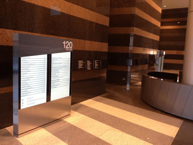 Digital Directory Board Display Signs Perth