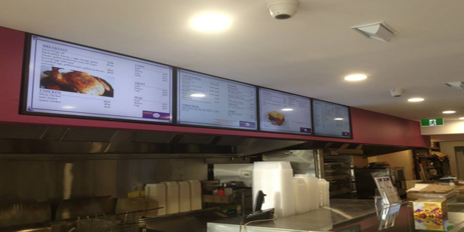 Get your digital menu signs by Perth's No1